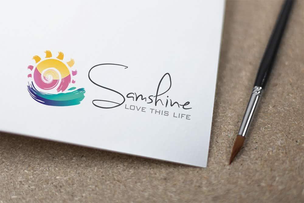 Logo for Samshine