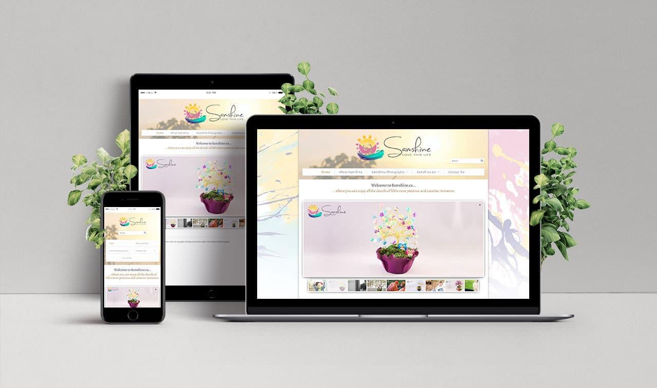 Website for Samshine