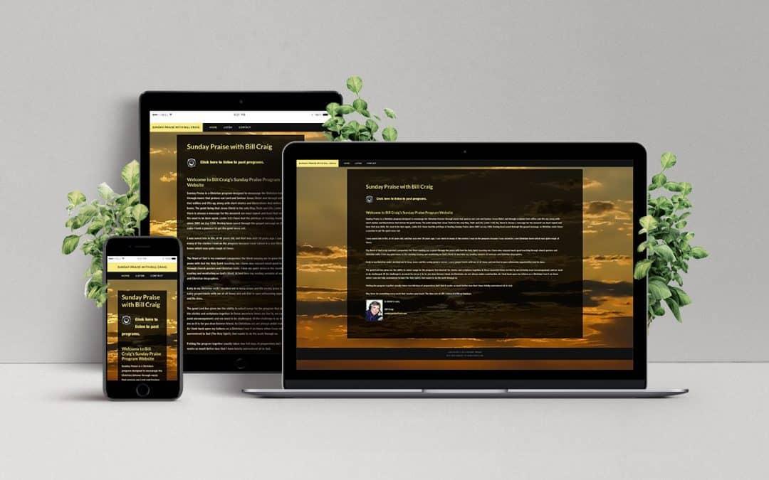 Website for Sunday Praise