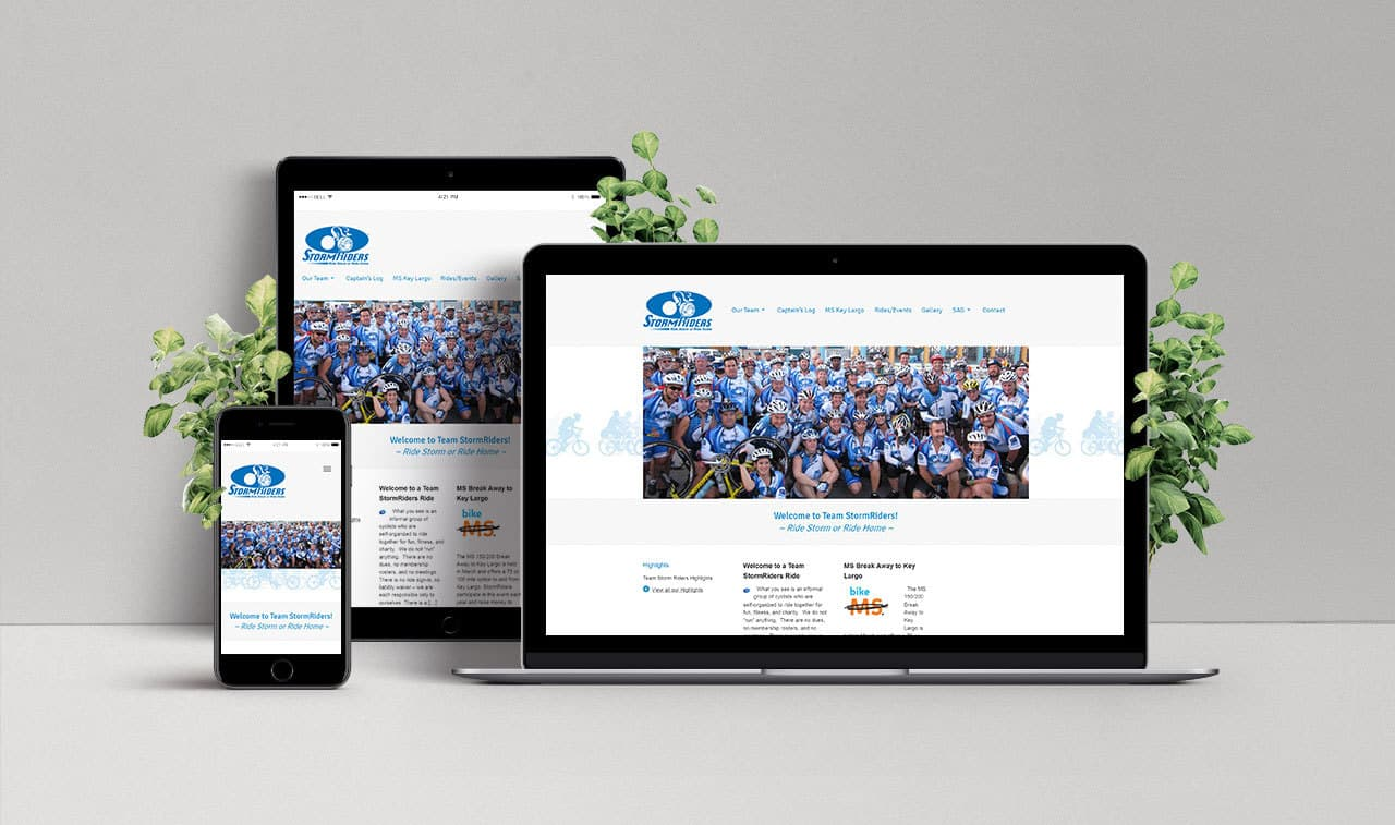 Website for Team StormRiders
