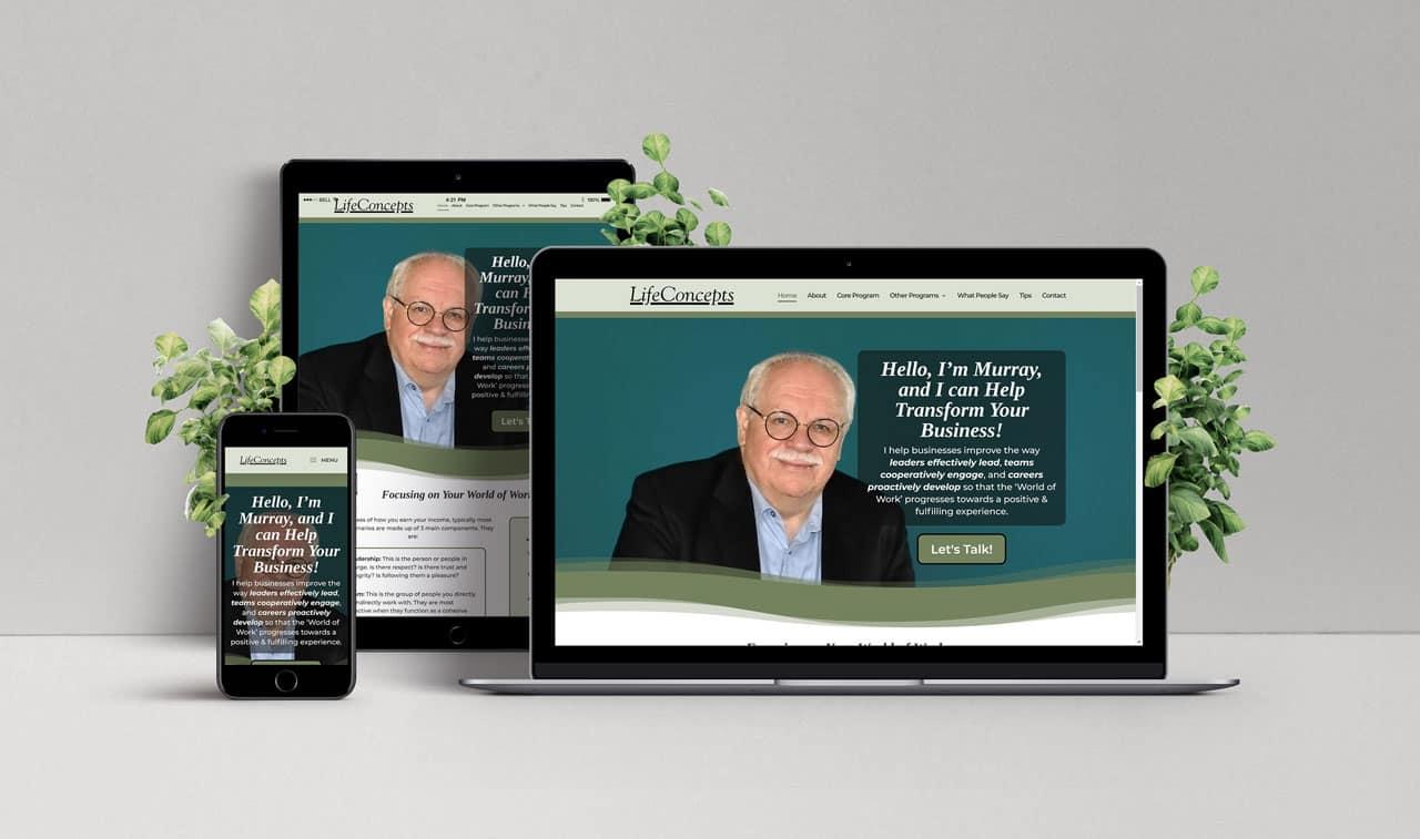 Website for Gregg's Flooring